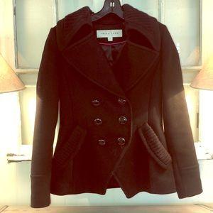 Trina Turk wool coat- super cute and like new